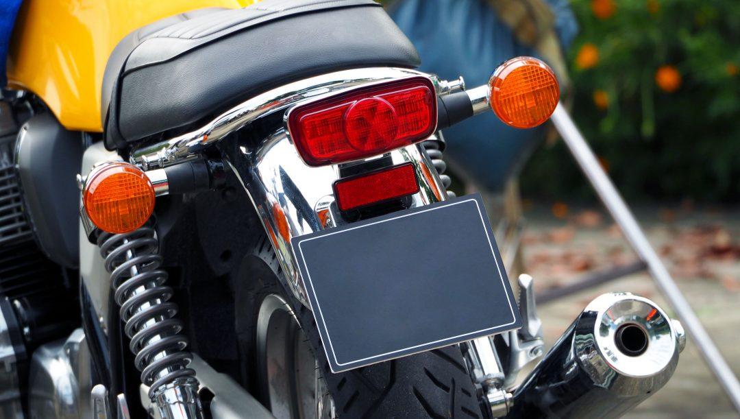 Targa moto