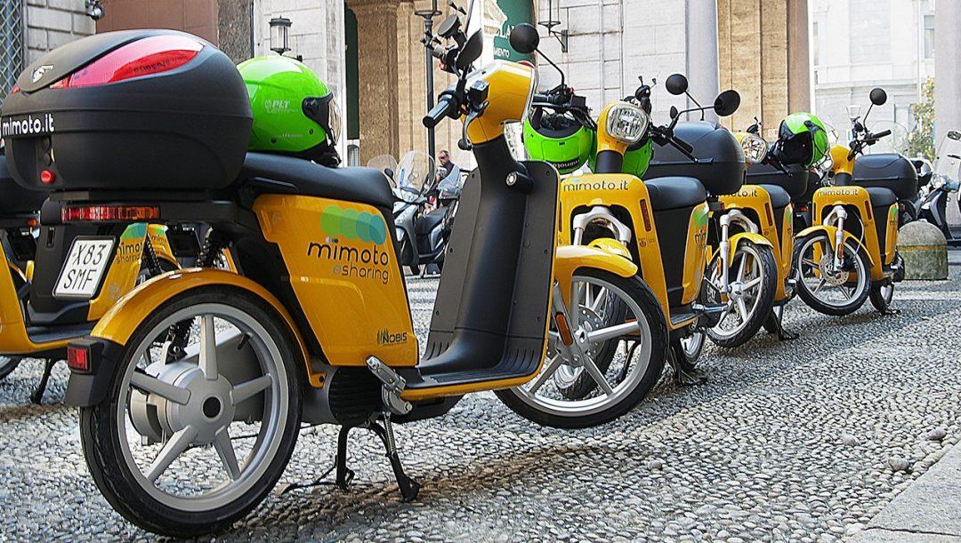 Scooter sharing a Firenze
